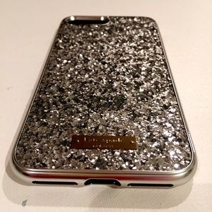 New Kate Spade Exposed Glitter IPhone 7 Plus Case